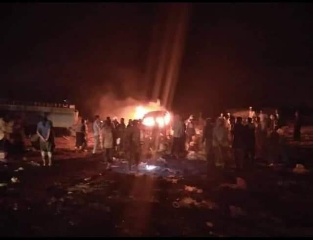 مصدر عسكري: الطائرات التي استهدفت معسكر الاستقبال في مأرب وراح ضحيتها 79 جندي ليست حوثية