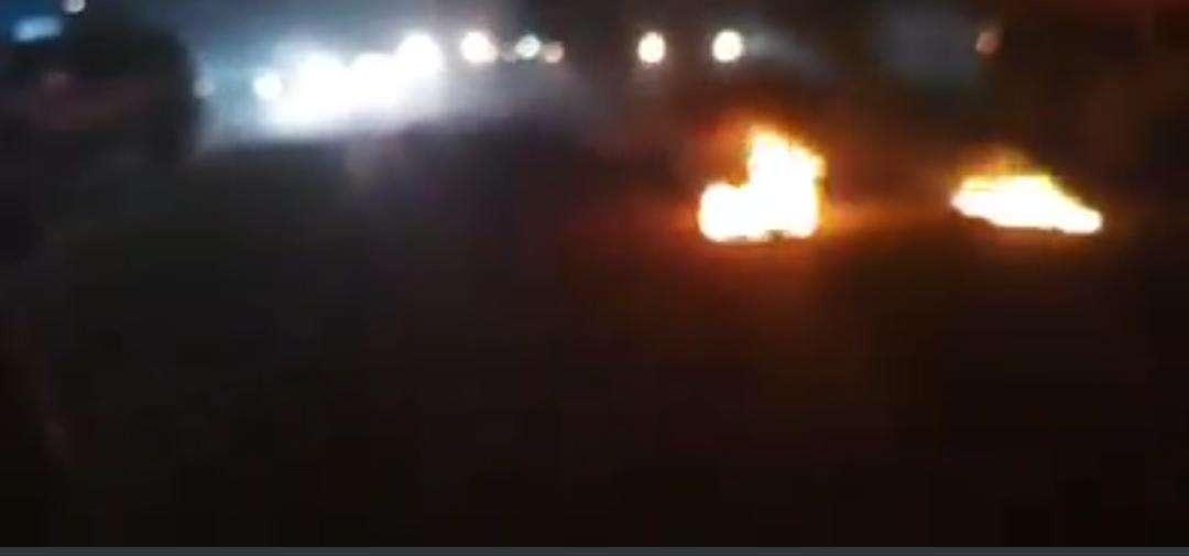 عاجل : إنفجار بالقرب من البنك الاهلي في لحج