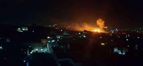 عاجل: سبب اندلاع حريق هائل في شبوة