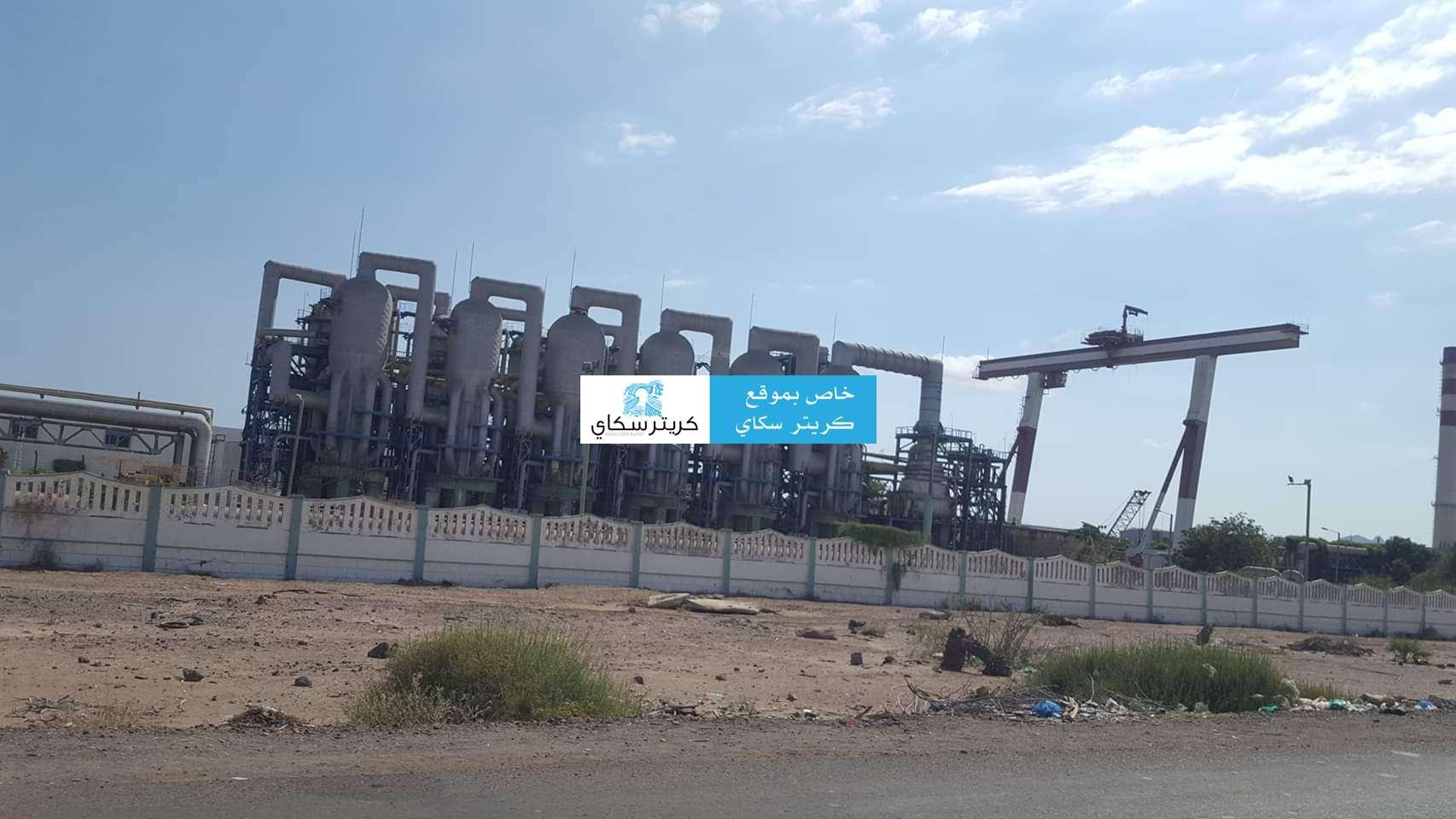 مصدر  يحدد لكريتر سكاي شروط بقاء توليد محطة الحسوة مرتفعاً في عدن