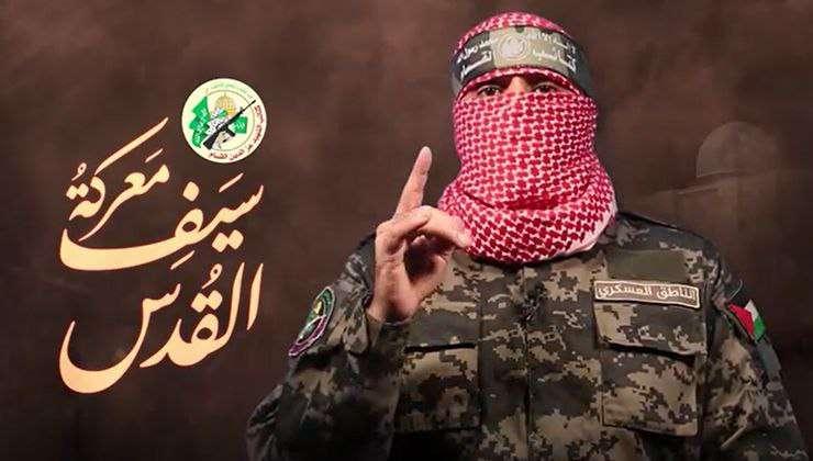 """تعرف على خطاب الناطق الرسمي باسم كتائب القسام """"أبو عبيدة"""" حول مستجدات المعركة"""