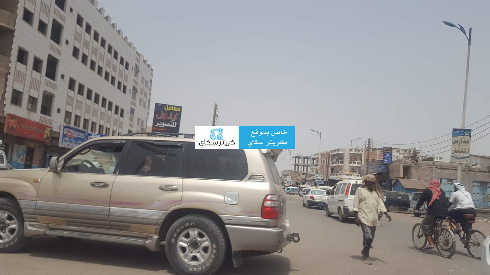 عاجل : قوة أمنية تنفذ مداهمات شمال عدن