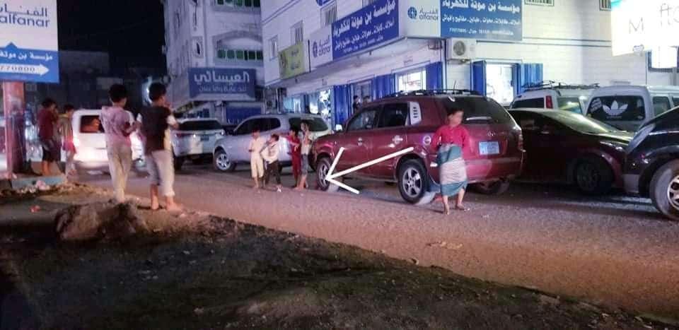 اطفال ينصبون كمائن للسيارات في عدن(حيلة لاتصدق)