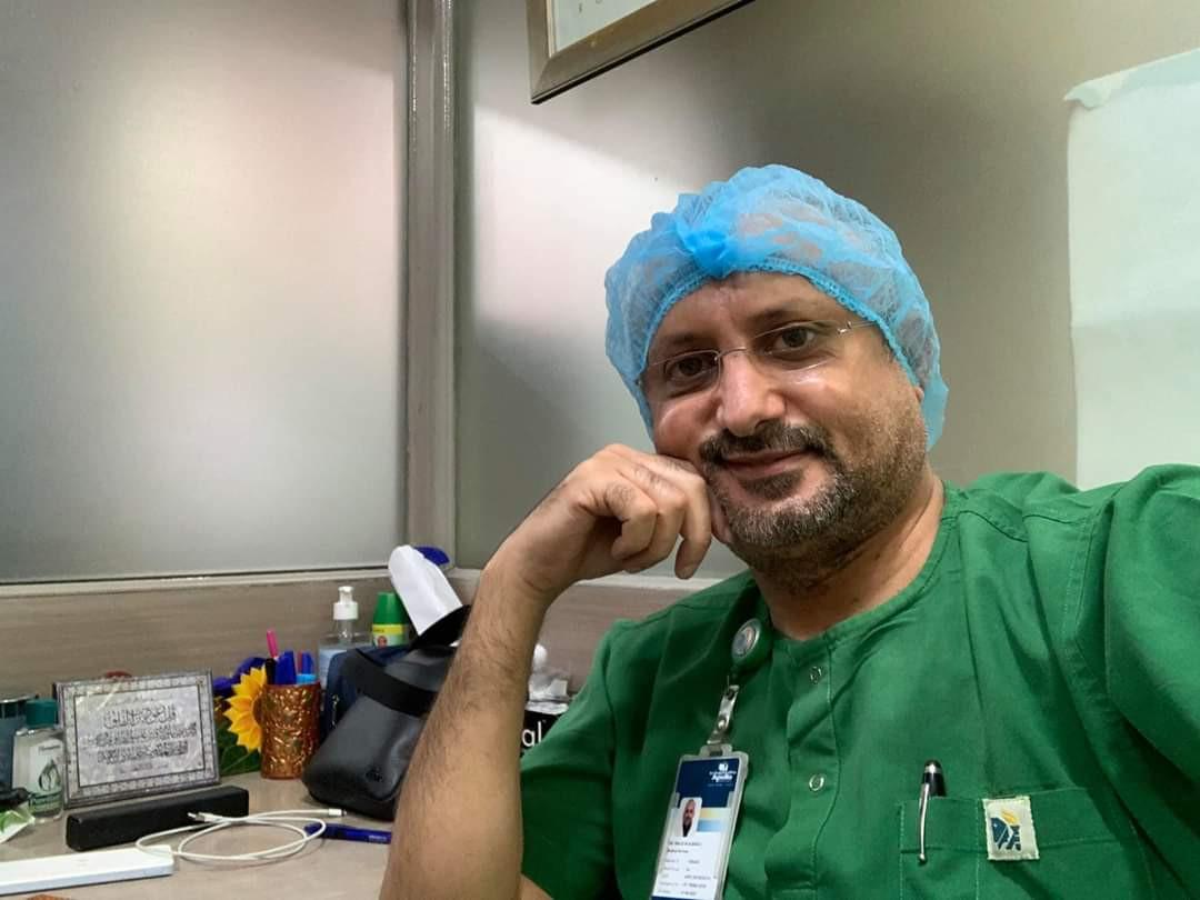 طبيب يمني يعلق على إغلاق محجر الأمل