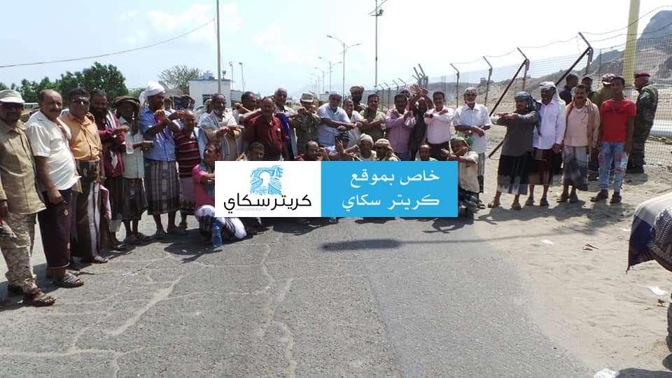 عاجل :قوات الجيش تغلق ميناء عدن لهذا السبب