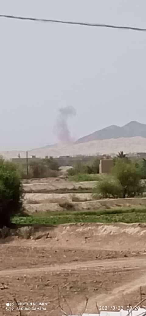 الحوثي يقيم اول صلاة جمعة في بيحان بعد سقوطها بيده(فيديو)